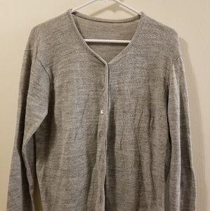Cozy Grey Cardigan